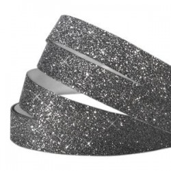 Bande Adhésive Crystal Glitter Noir 10MM / 10CM