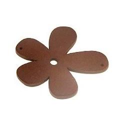 Orchidée bois brun 56mm