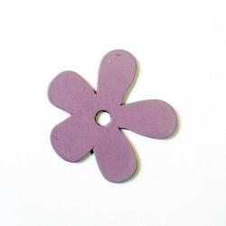 Orchidée bois Mauve Clair 56mm