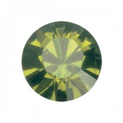 Pierre strass pointu Swarovski Olivine (SS39 8 mm)