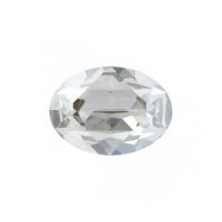 Pierre à sertir Swarovski Silver Shades 4120 8x6mm