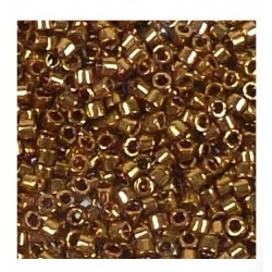 Délica Metallic Light Bronze 11/0 N°DB0022L /50gr *