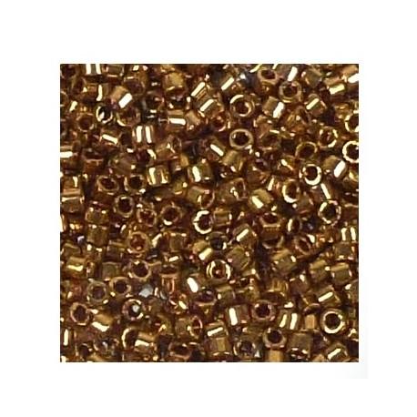 Délica Metallic Light Bronze 11/0 N°DB0022L /50gr *