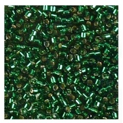 Délica Silverlined Emerald 11/0 N°DB0148 /50gr *