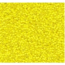 Délica Opaque Yellow 11/0 N° DB0721 /50gr *