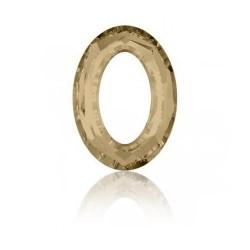 Donuts oval Swarovski 33x24mm