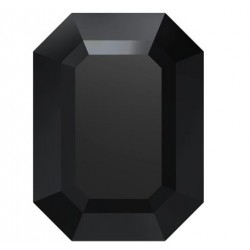 Swarovski Cabochon 4610 14x10mm Pierre Rectangle Jet U