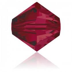 Toupie Swarovski Ruby 3mm