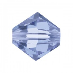 Toupie Swarovski Light Sapphire 4mm