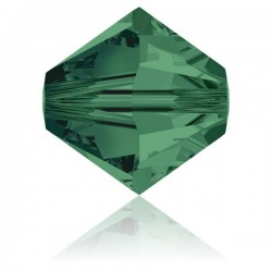 Toupie Swarovski Emerald 4mm