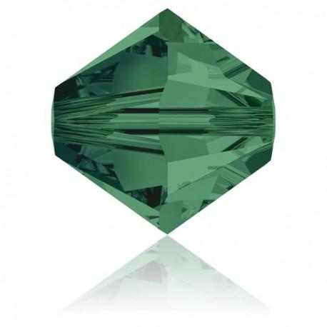 Toupie Swarovski Emerald 4mm