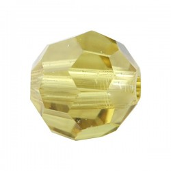 Ronde Swarovski Lime 4mm