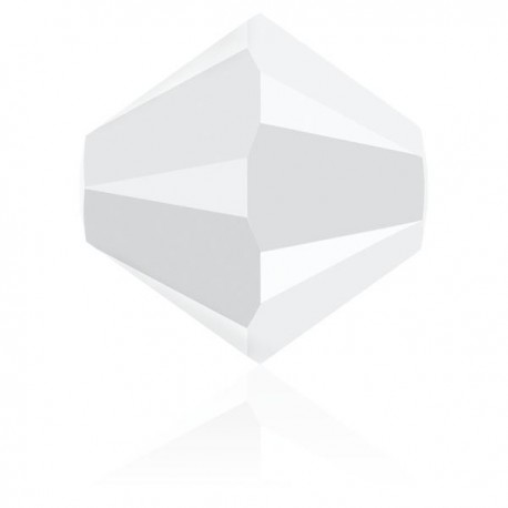 Toupie Swarovski White Alabaster 6mm