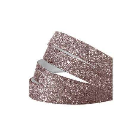 Bande Adhésive Crystal Glitter Aubergine 10MM / 1M