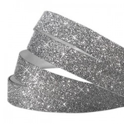 Bande Adhésive Crystal Glitter Anthracite 10MM / 1M