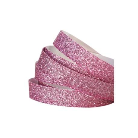 Bande Adhésive Crystal Glitter Fuchsia10MM / 10cm
