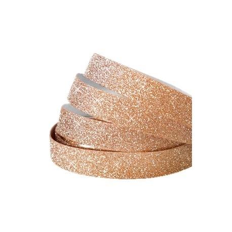 Bande Adhésive Crystal Glitter Rosegold 10MM / 10cm