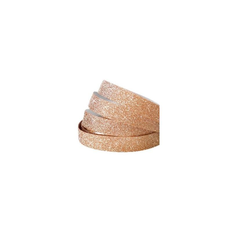 Bande Adhésive Crystal Glitter Rosegold 10MM   10cm - Tanaïs 66665dc9c397