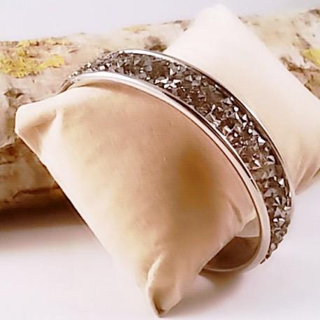 Bracelet Jonc Black Diamond by Nomade™
