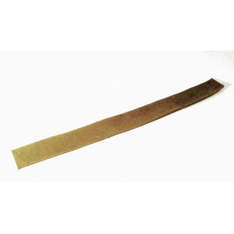 Cuir Brut Plat Brun 20mm/20cm