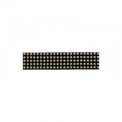 Lannière Daim Noir Clouté Argenté 20mm 5 rangs / 20cm