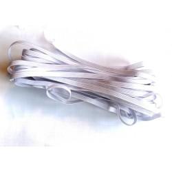 Elastique Blanc Plat 4.5mm /m