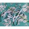 Kit Masque Coton OEKO-TEX® Vert Fleuri