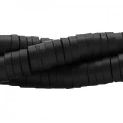 Perles Katsuki Heishi 6mm Noir ciel nocturne / 100 pièces(10cm)