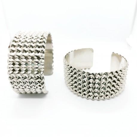 Bracelet Manchette Clouté
