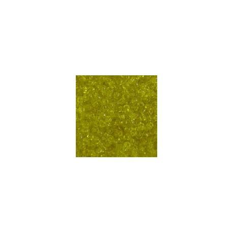 Rocaille jaune foncée T9/0 2.5mm/sachet de 10gr