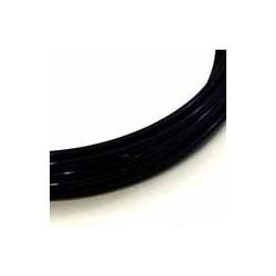 Fil aluminium 2mm / 3m noir