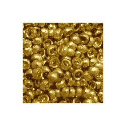 Perle à écraser 3mm dorée