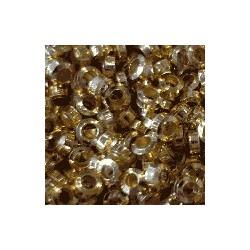 Perle à écraser 2mm dorée /20p