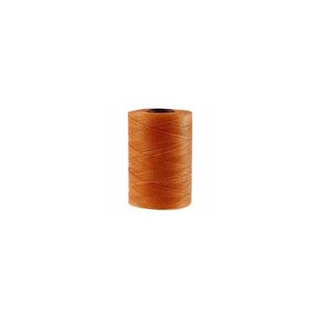 Corde cirée plate brun moka 1mm / 1M