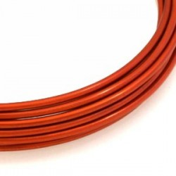 Fil d aluminium orange 2mm/ 3M