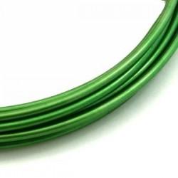 Fil aluminium vert pomme 2mm/ 3M