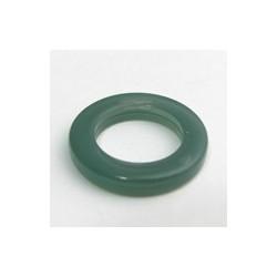 Anneau résine vert canard 23mm