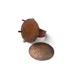 Bague tamis cuivre plateau 22mm