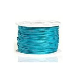 Coton ciré Turquoise foncé 2mm / 1M