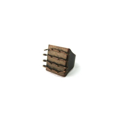 Bague support cuivré brun 23x18mm