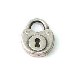 Pendentif métal cadenas