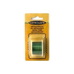 Bobine Fil métallique vert 26G-0,45MM