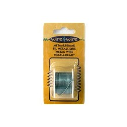 Bobine Fil métallique turquoise 18 gauge-1.20MM