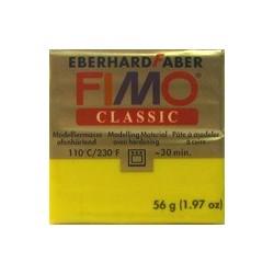 Pâte fimo classic 56gr jaune d'or 15