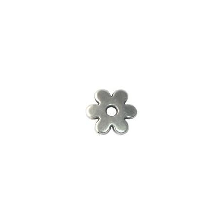 Perle argenté Fleur 30mm