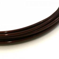 Fil aluminium brun 2mm/ 3M