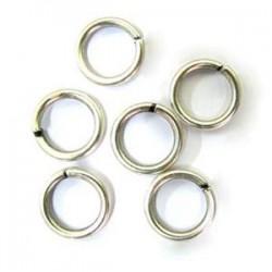 Anneau métal rond 9x1.5mm